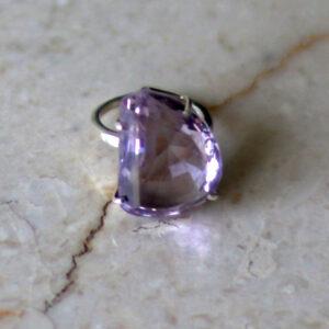 טבעת אמטיסט יוקרתית